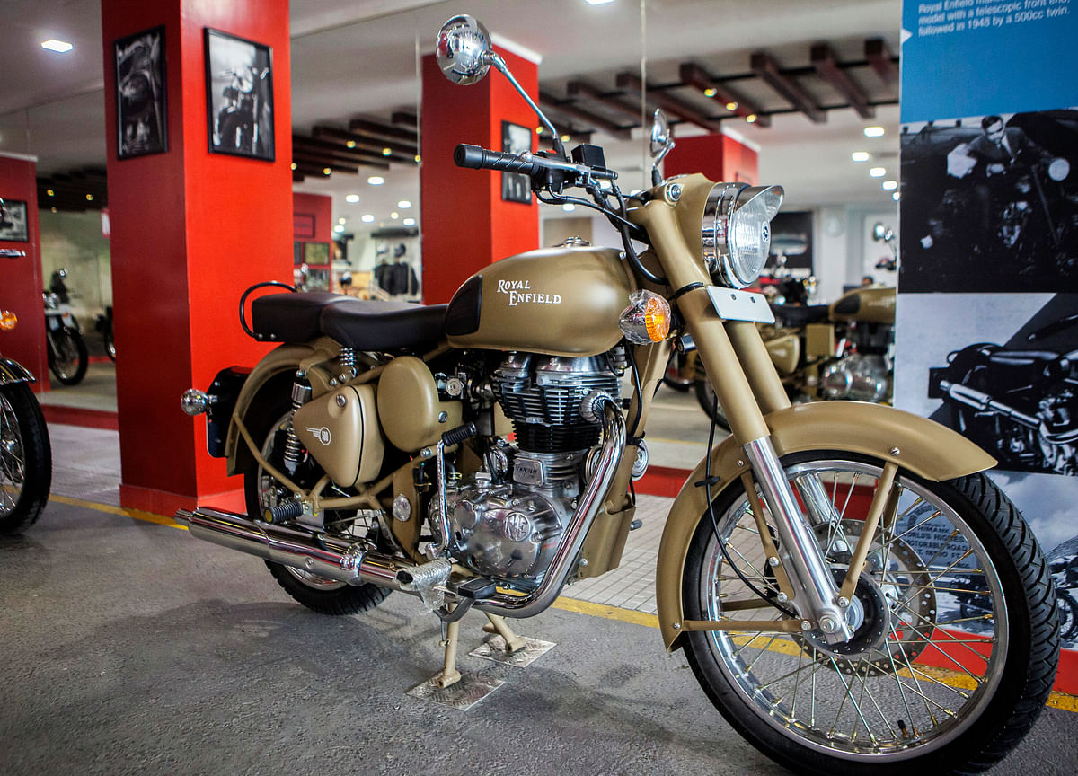 Royal Enfield Sales In June Drop The Most In Five Years