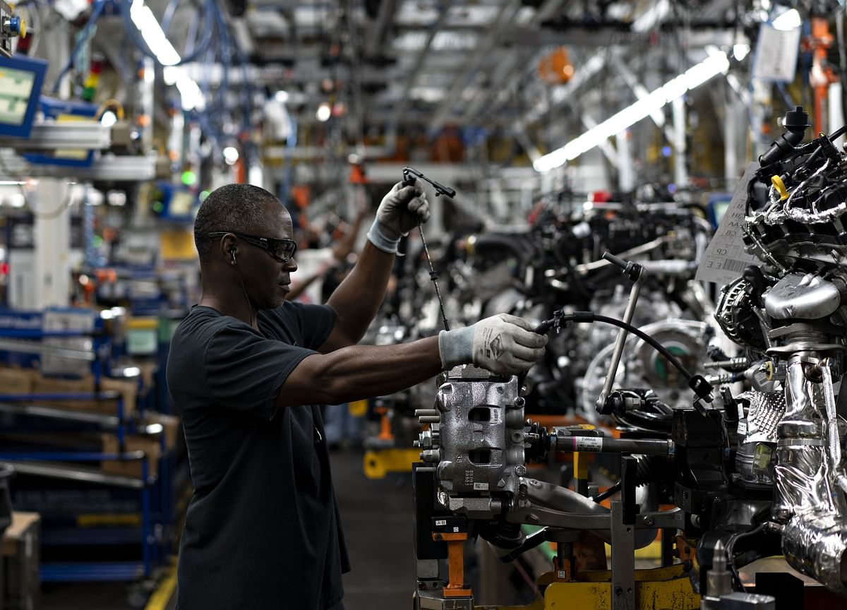U.S. Factory Output Climbs More Than Expected as Autos Advance