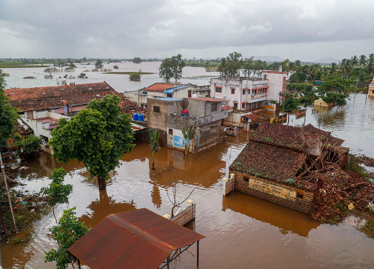 Floods In Western Maharashtra Kill 50; Relief Operations Continue