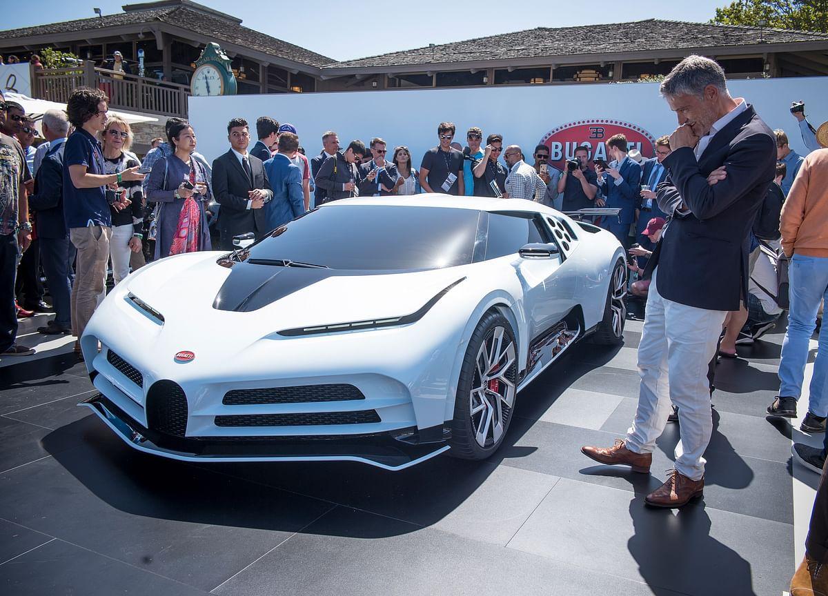 Bugatti Channels Early '90s Supercar Swag inNew$8.9 Million Auto