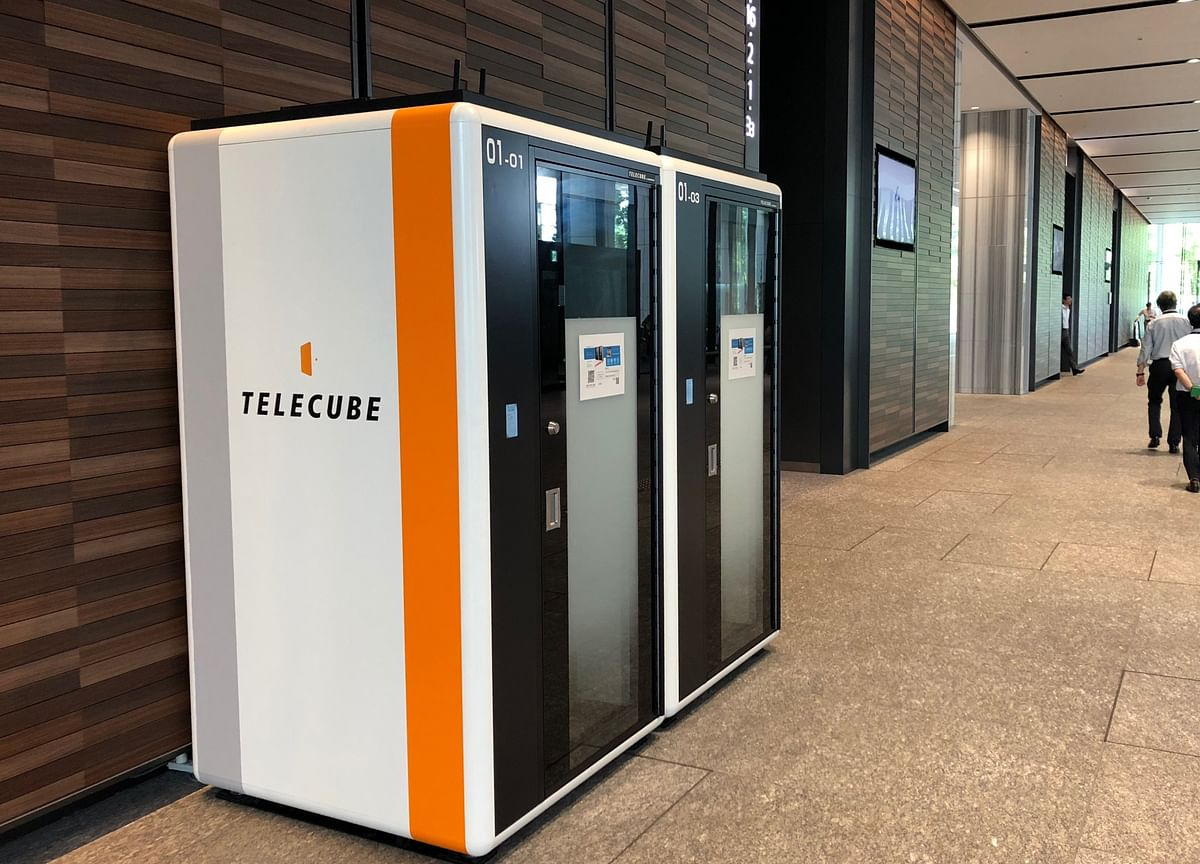 Phonebooth-Sized Offices Debut in Japan for Telecommuting Masses