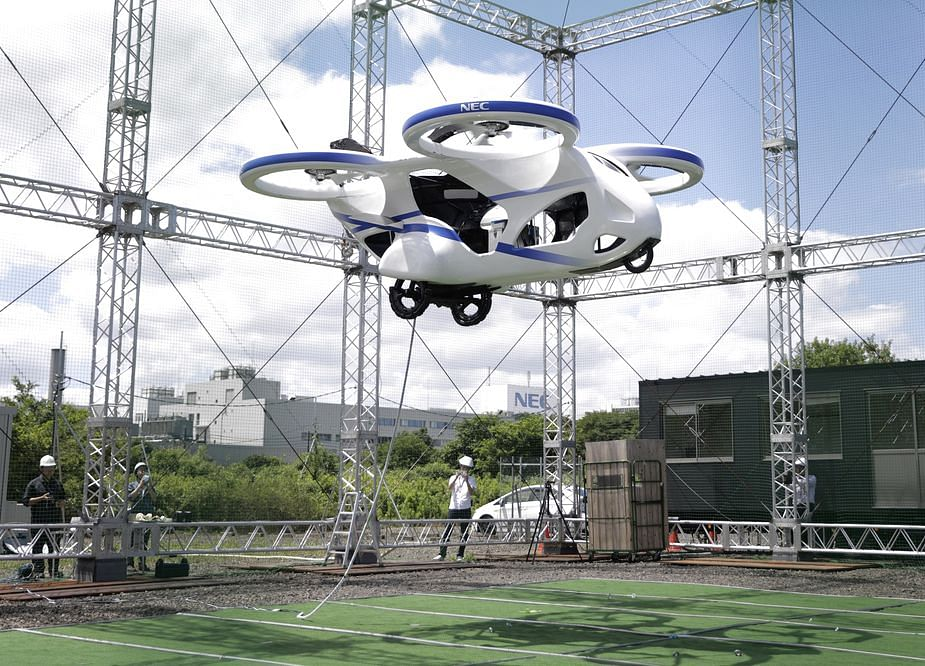 New Japanese Flying Car Gets Off the Ground, for About a Minute