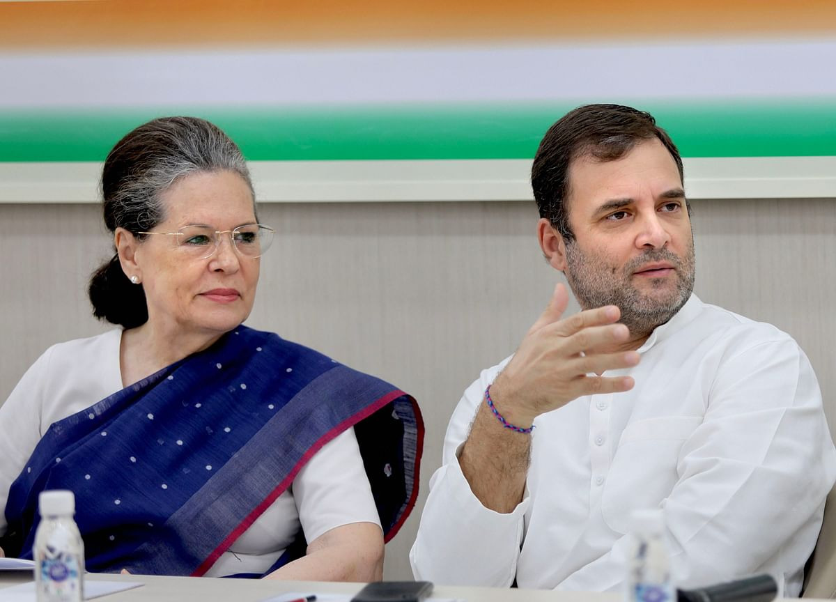 Sonia, Rahul Gandhi Opt Out Of Process To Pick Congress Party Chief