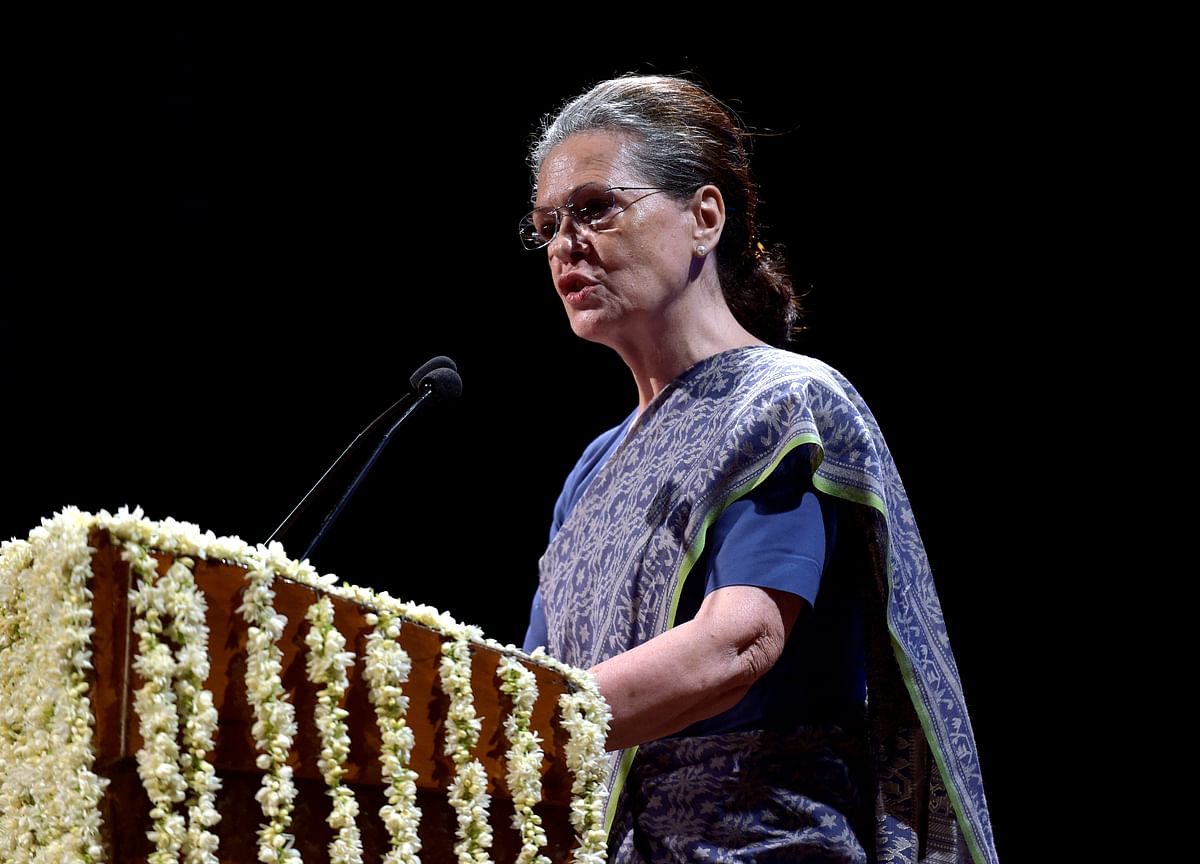 Sonia Gandhi Urges Congress Workers To Unite In Fighting 'Dictatorship' On Foundation Day
