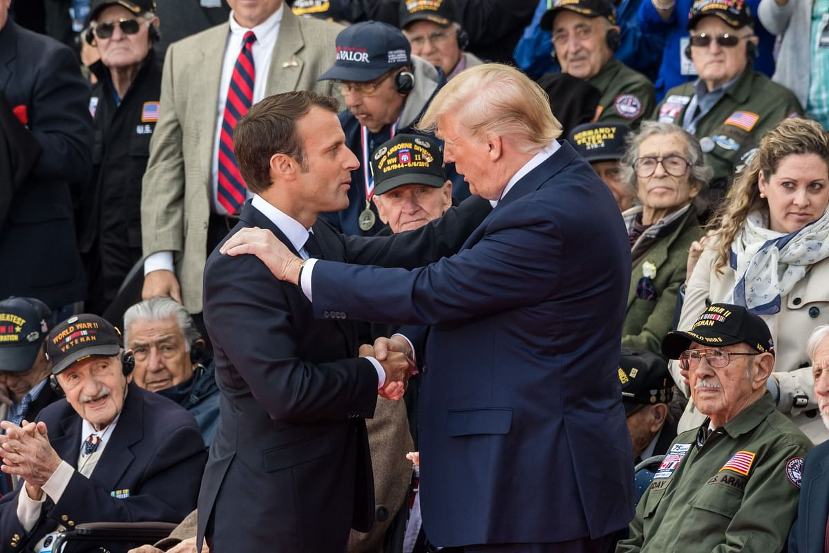 Trump Unlikely to Support Macron's Plan to Revive Iran Deal