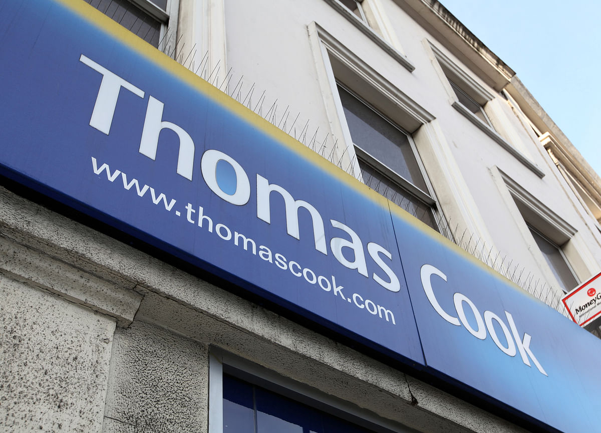 Thomas Cook Plunges as Tour Operator Seeks More Bailout Money