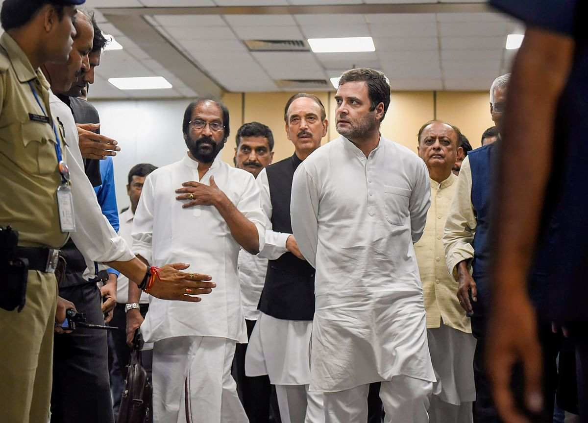 Rahul Gandhi Isolated Within Congress Over Stand On Kashmir, Says BJP