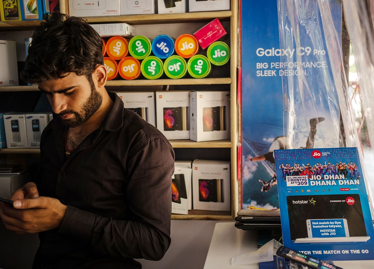 Reliance Jio's Revenue Market Share Grows At Its Slowest Pace
