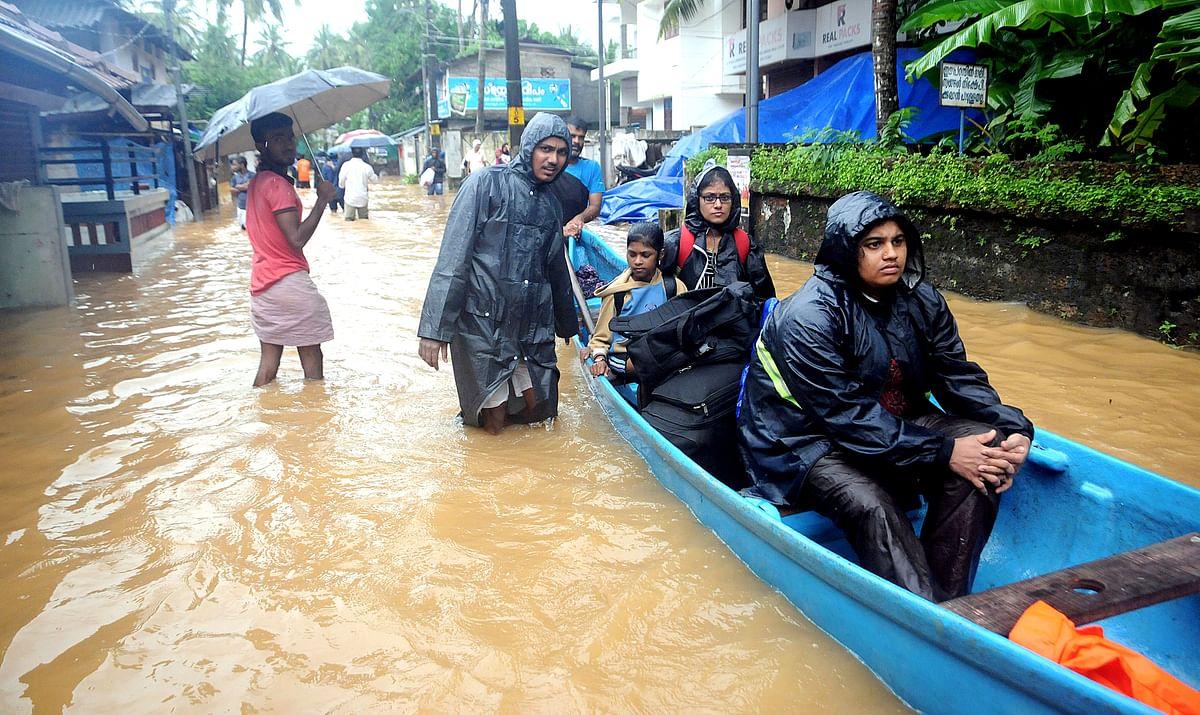 Kerala Floods: Death Toll Rises To 60, Over 2 Lakh Moved To Relief Camps