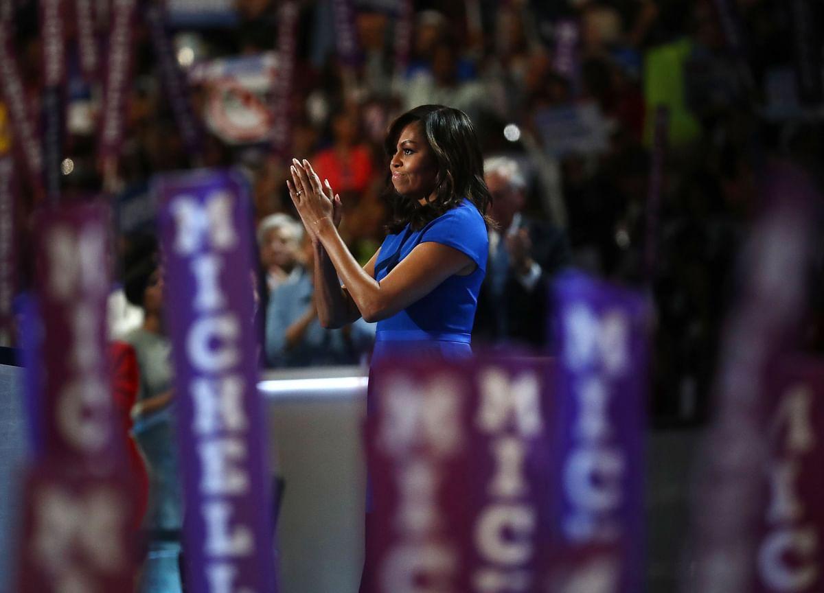 Bannon Floats Idea of Michelle Obama Run Against Trump