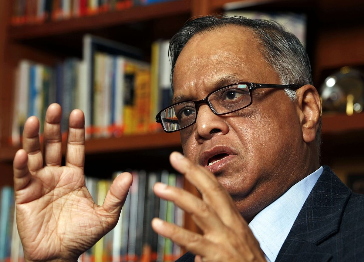 How Narayana Murthy Thinks India Can Cement Its Place As A Software Leader