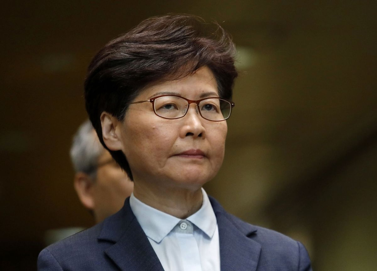 Hong Kong Legislature Suspended After Carrie Lam Policy Speech Disrupted