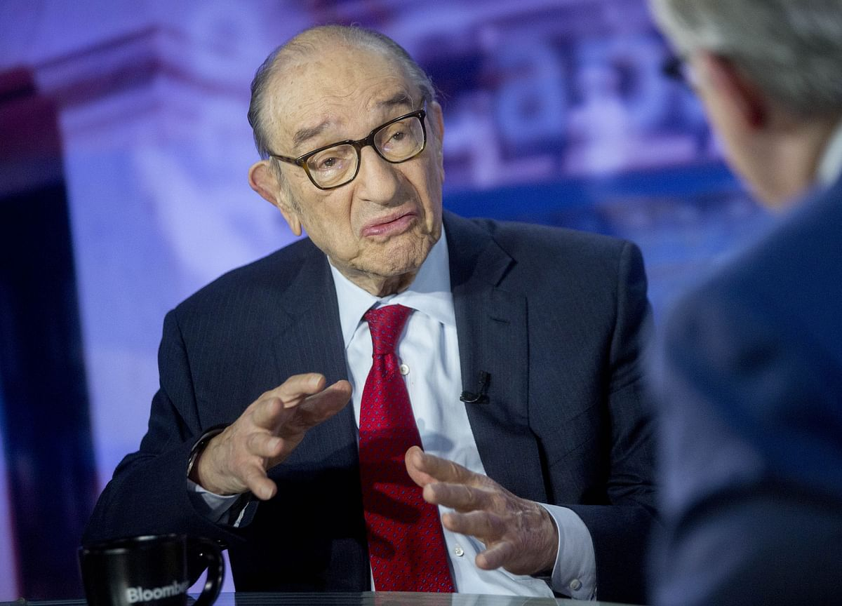 Greenspan Sees No Barriers to Prevent Negative Treasury Yields