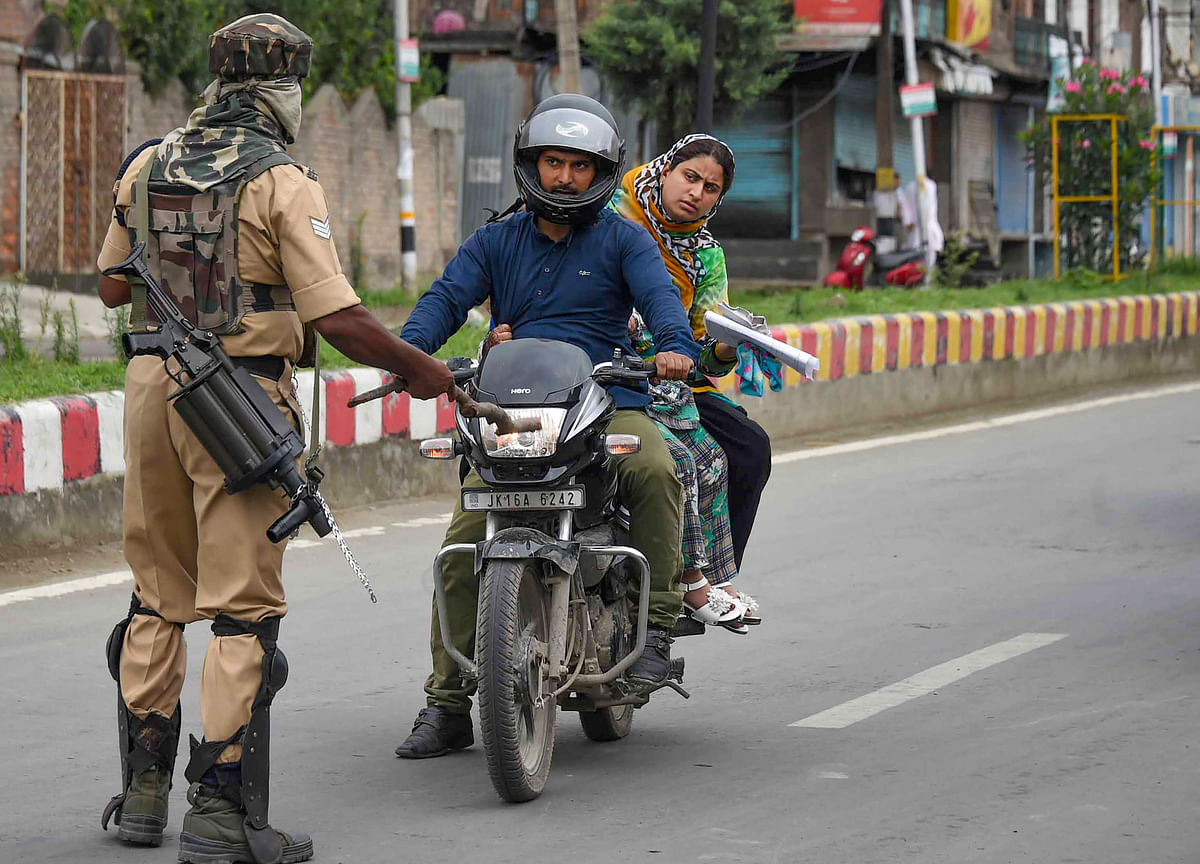 Officials Say Restrictions Further Eased In J&K As Life Slowly Returns To Normal