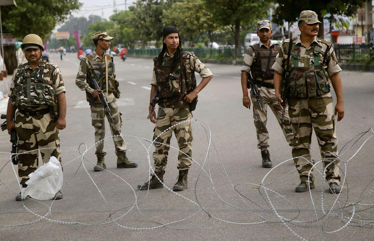 Indian Army deployed in Jammu & Kashmir. (Source: PTI)