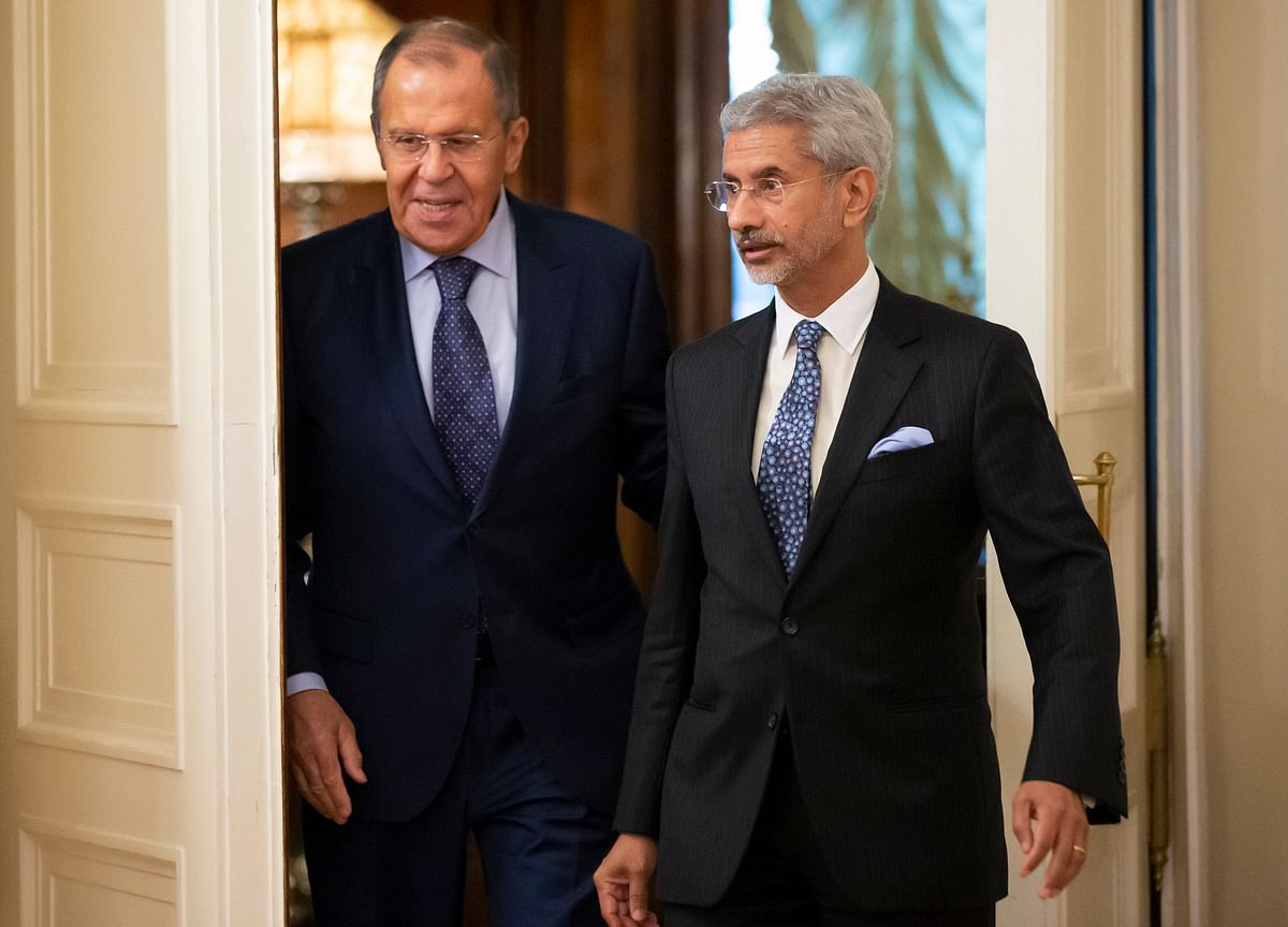 Jaishankar Holds Talks With Russian Counterpart, Reviews Preparation For PM Modi's Visit