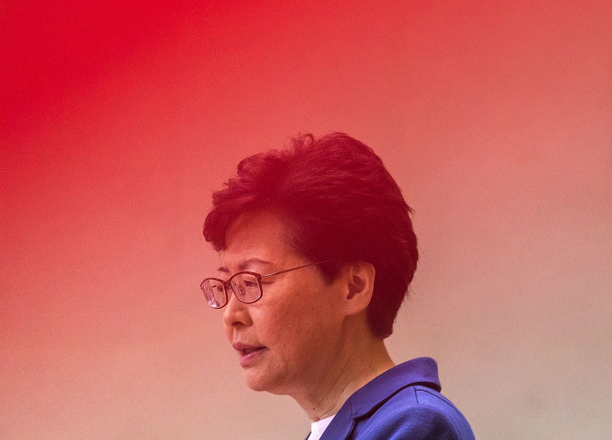 Carrie Lam Vows to Stop 'Limitless and Lawless' Violence in Hong Kong