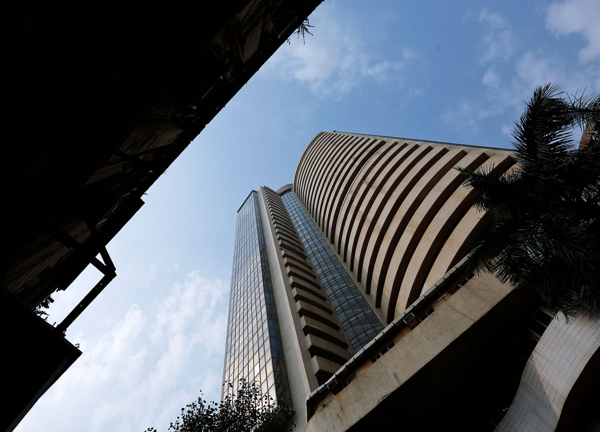 Sensex, Nifty End Little Changed As Financial Drag