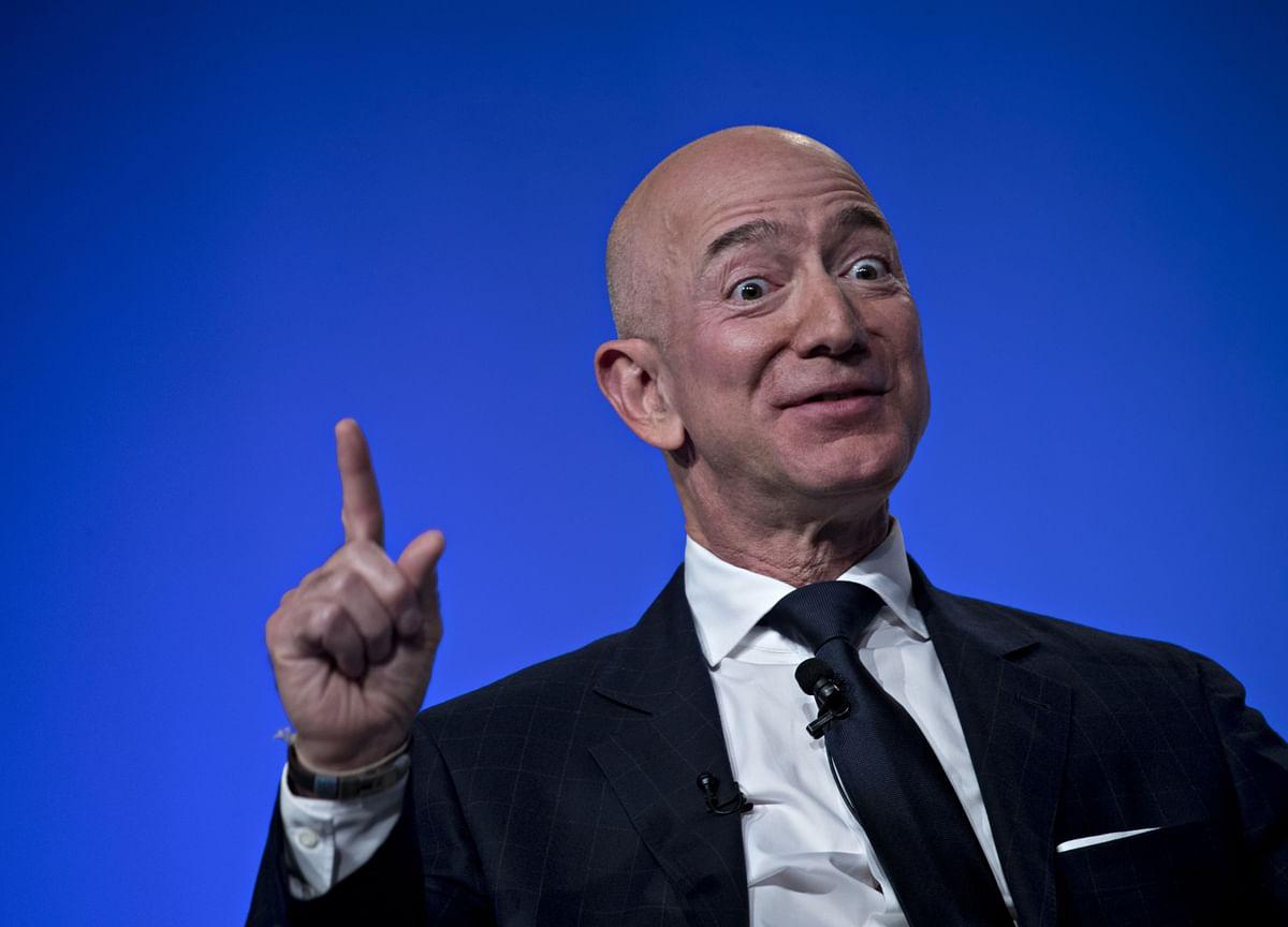 Bezos Sells More Amazon Stock to Take Proceeds to $2.8 Billion