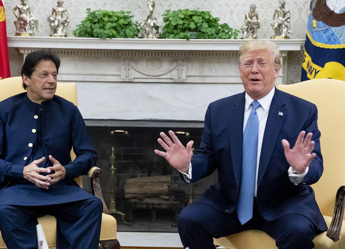 Imran Khan Discusses Kashmir With Trump Over Phone