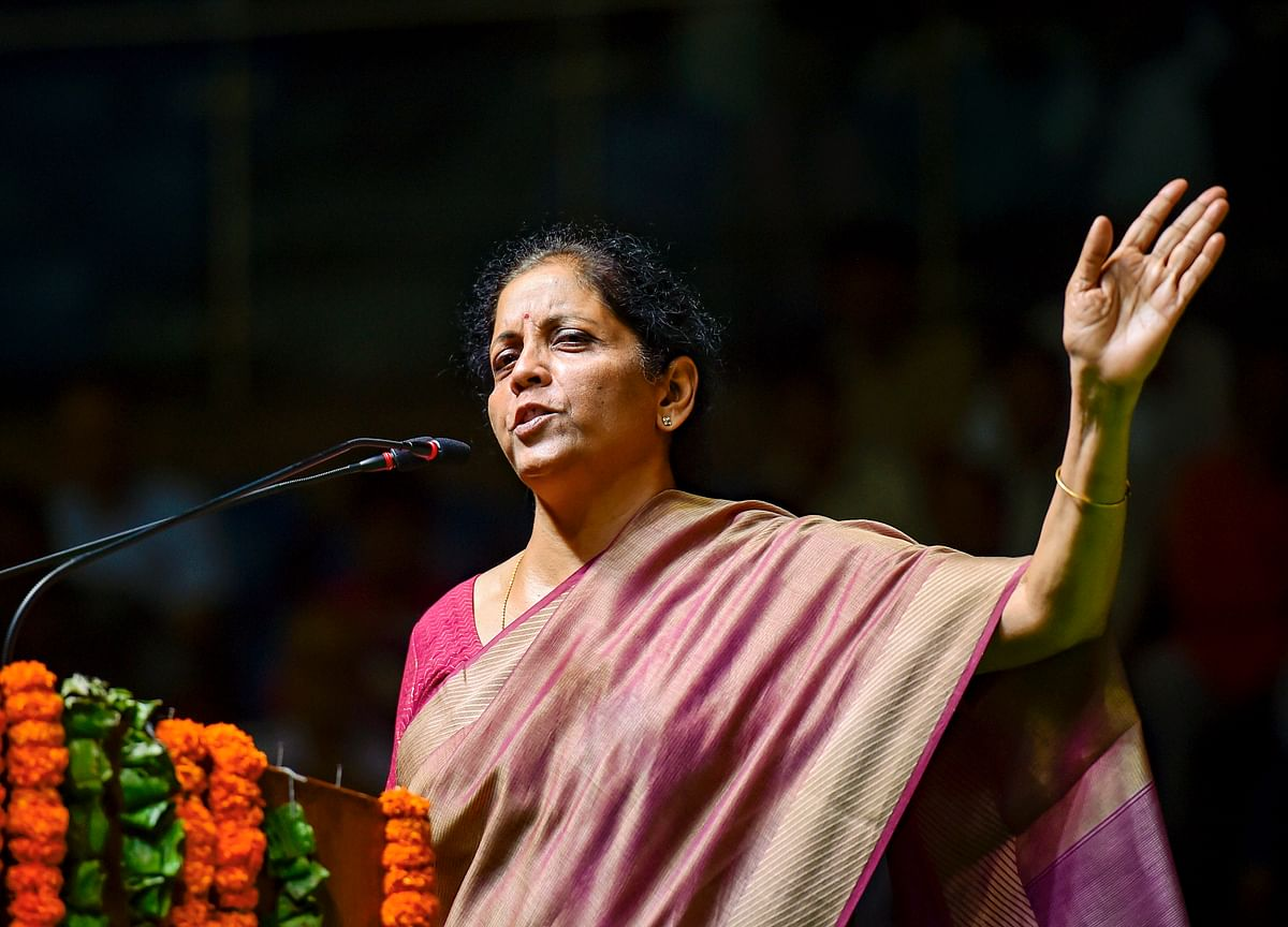 FM Sitharaman Says Willing To Do More Beyond Budget To Boost GDP Growth