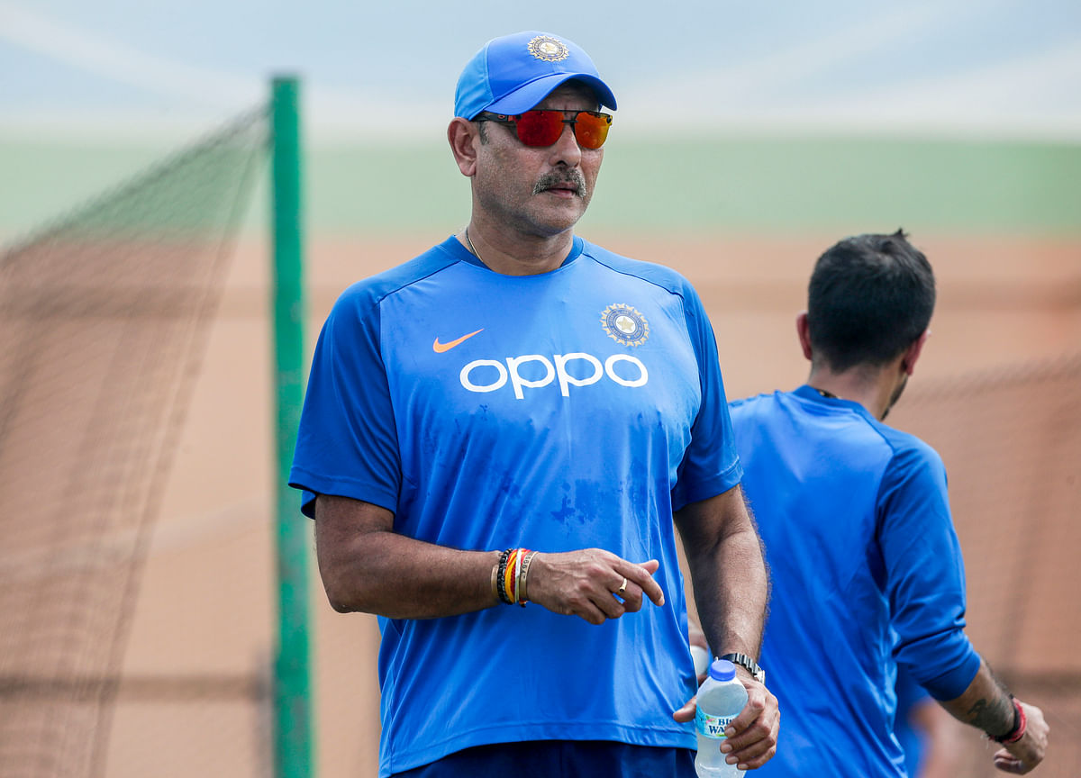 Ravi Shastri Reappointed Head Coach Of Indian Team
