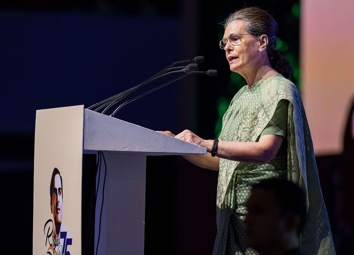 Rajiv Did Not Use Massive Poll Mandate To Create Fear, Destroy Institutions: Sonia Gandhi