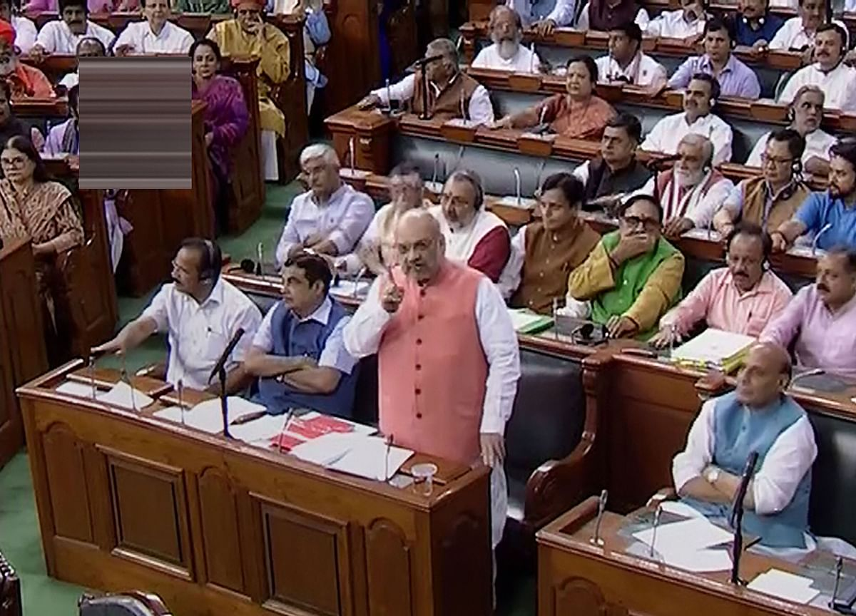 Parliament Nod To Resolution Abrogating J&K's Special Status
