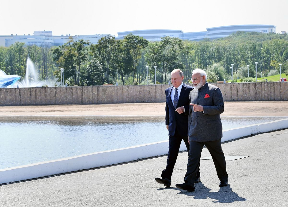 India, Russia Against 'Outside Influence' In Internal Matters Of Any Nation, Says PM Modi
