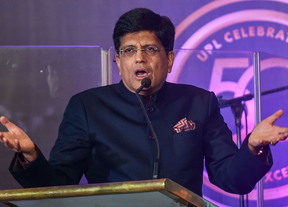 Piyush Goyal Says His Remarks On Amazon's India Investment Were Misconstrued