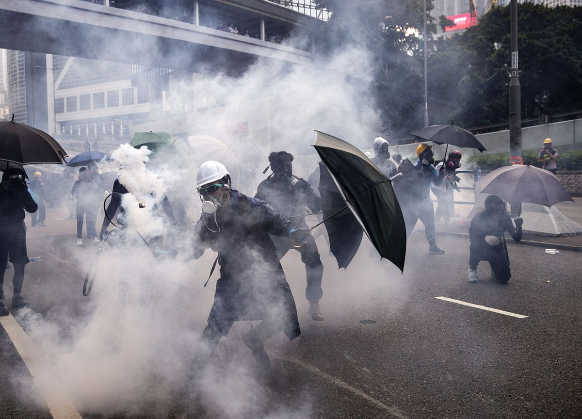 Police Say Protesters Used 'Lethal Violence': Hong Kong Update