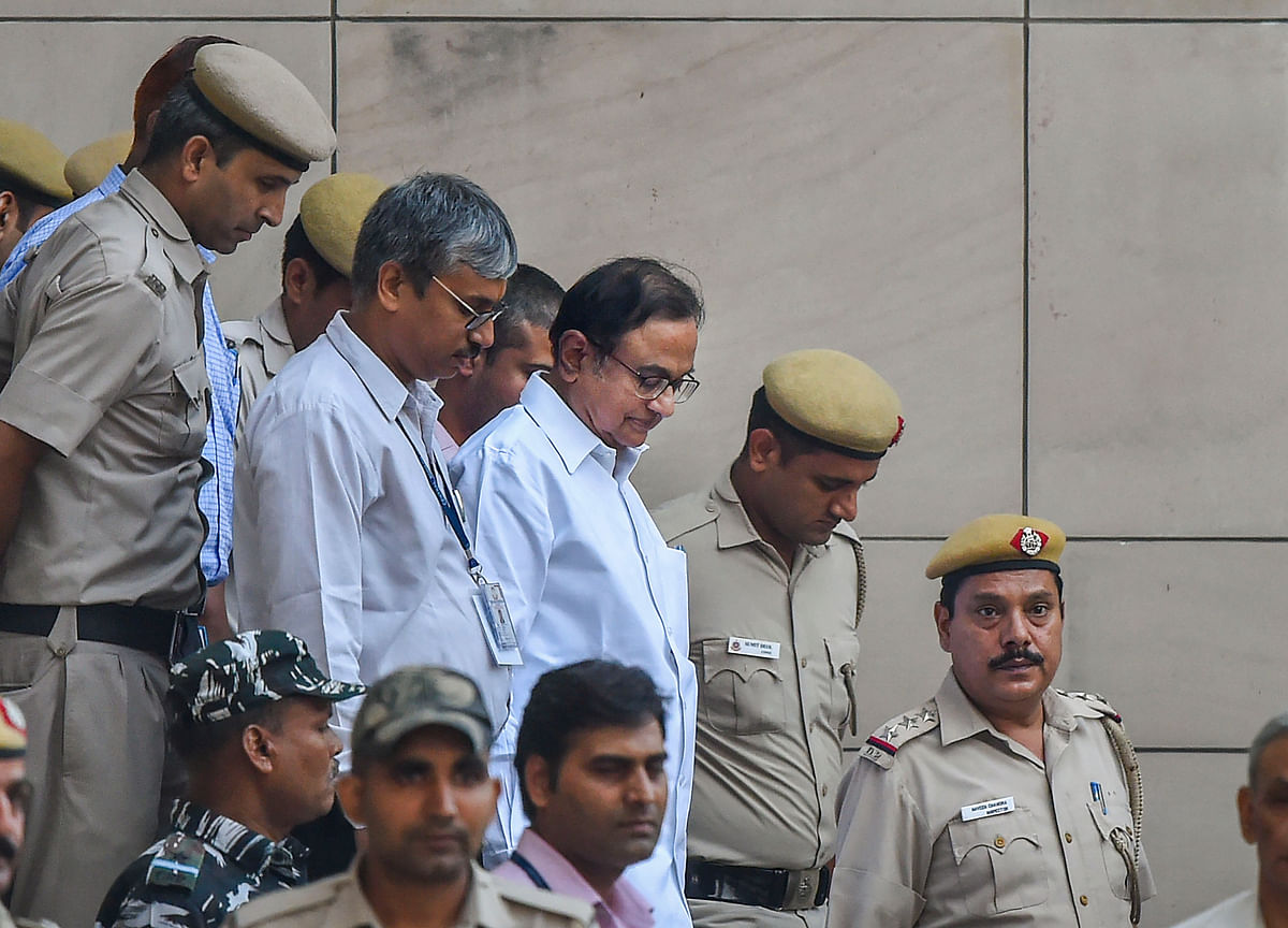 Chidambaram's CBI Custody In INX Media Case To Continue Till Sept. 5, Says Supreme Court