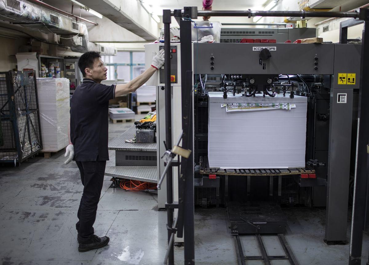 Hong Kong Manufacturing Sentiment Hit Amid Trade War, Protests