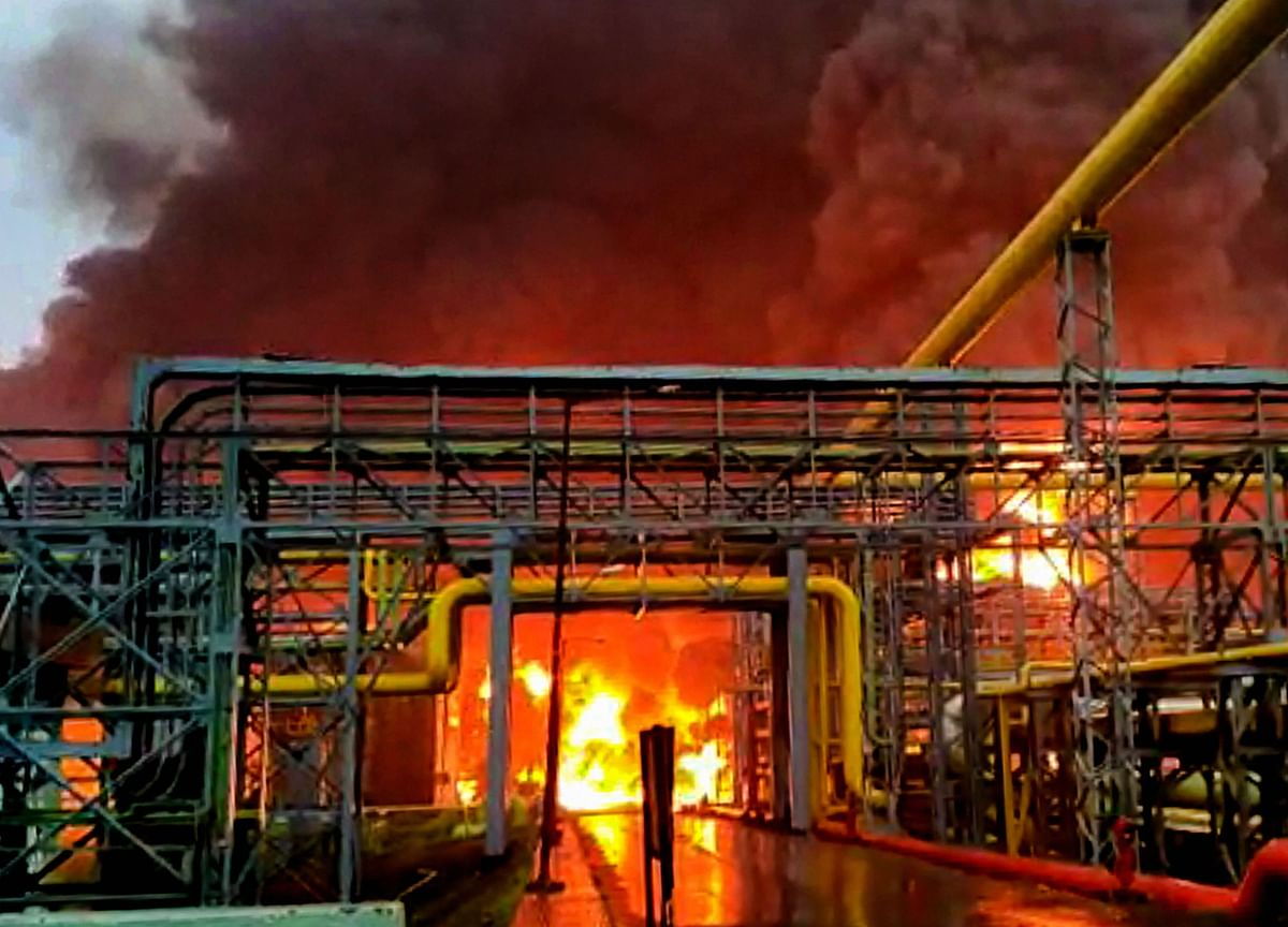 Fire At ONGC's Uran Plant Disrupts Gas Supply In Mumbai
