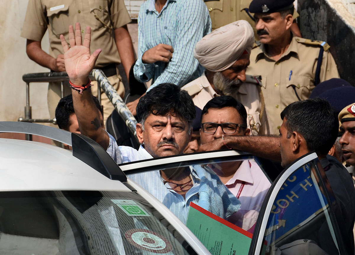 Verdict On D Shivakumar's Bail Plea On Sept. 25