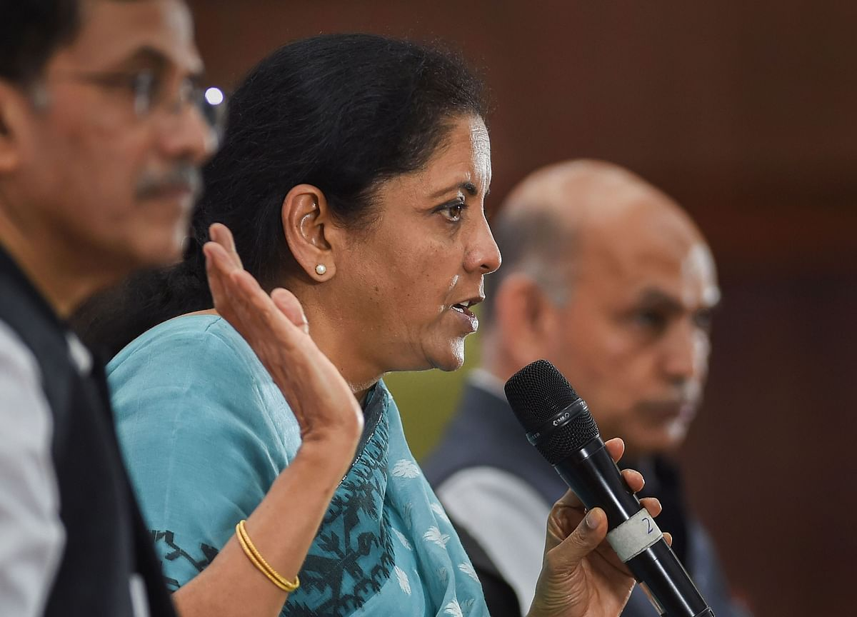 Finance Minister On The Economy: Nirmala Sitharaman Says Any Shortfall In Tax Revenue Won't Affect Social Sector Spending