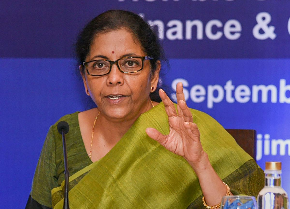 Nirmala Sitharaman Cuts India's Corporate Tax Rate In Rs 1.45-Lakh-Crore Stimulus
