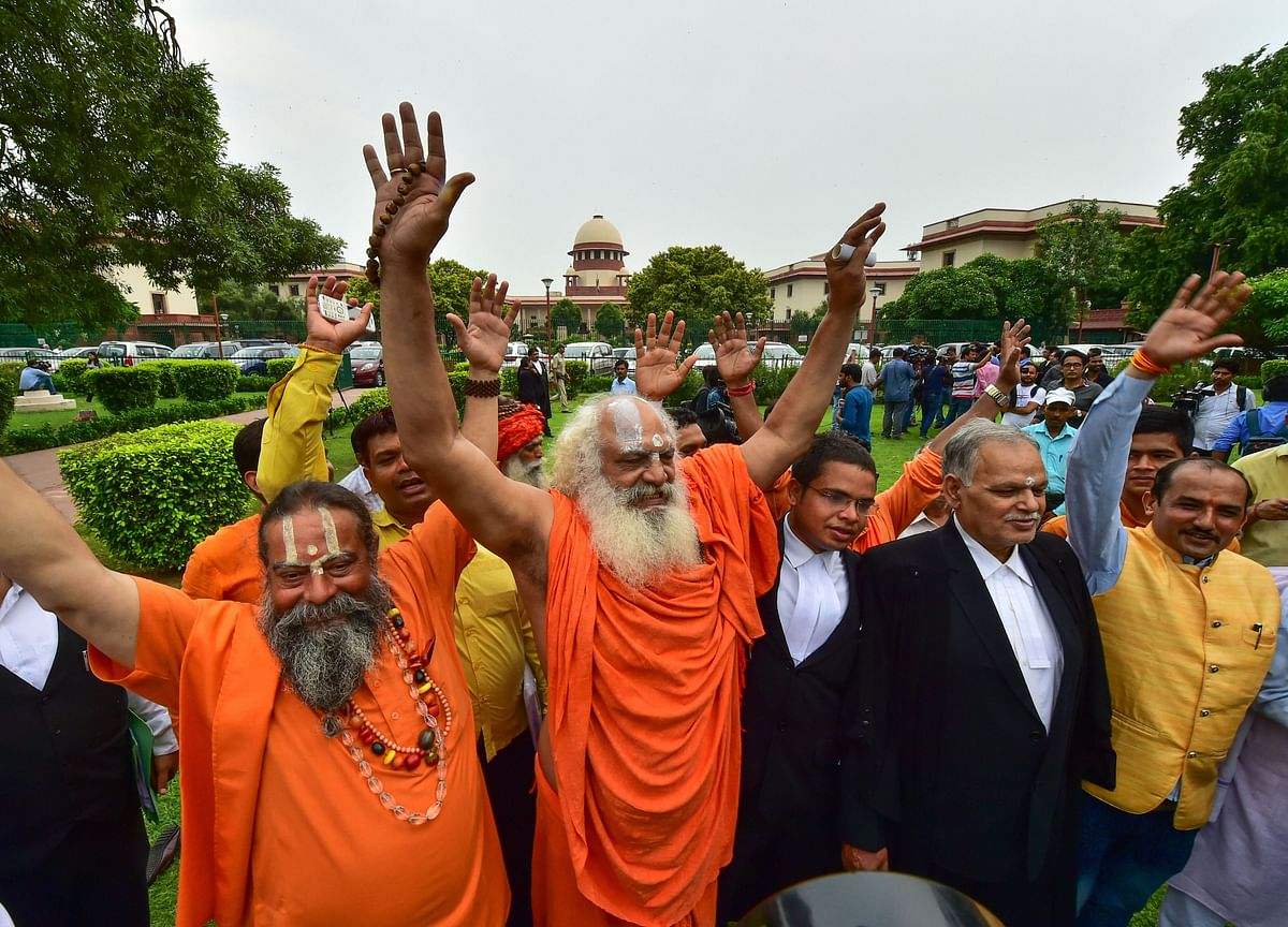 Ayodhya Case: Supreme Court Says Parties Can Go For Mediation If They Want To