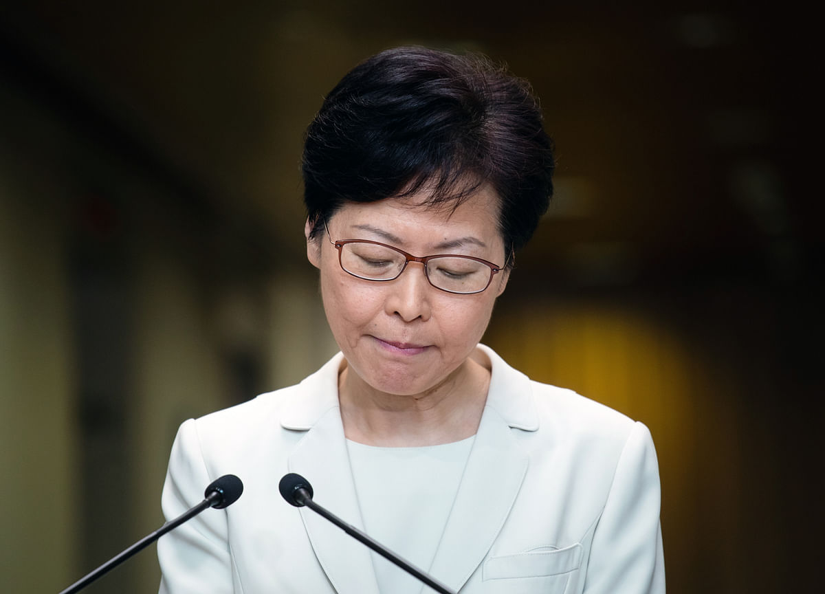 Hong Kong's Lam Resists Protesters' Demands for More Action
