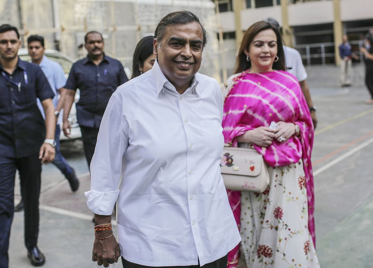 Mukesh Ambani Richest Indian With Net Worth Of Rs 3,80,700 Crore: Hurun Rich List