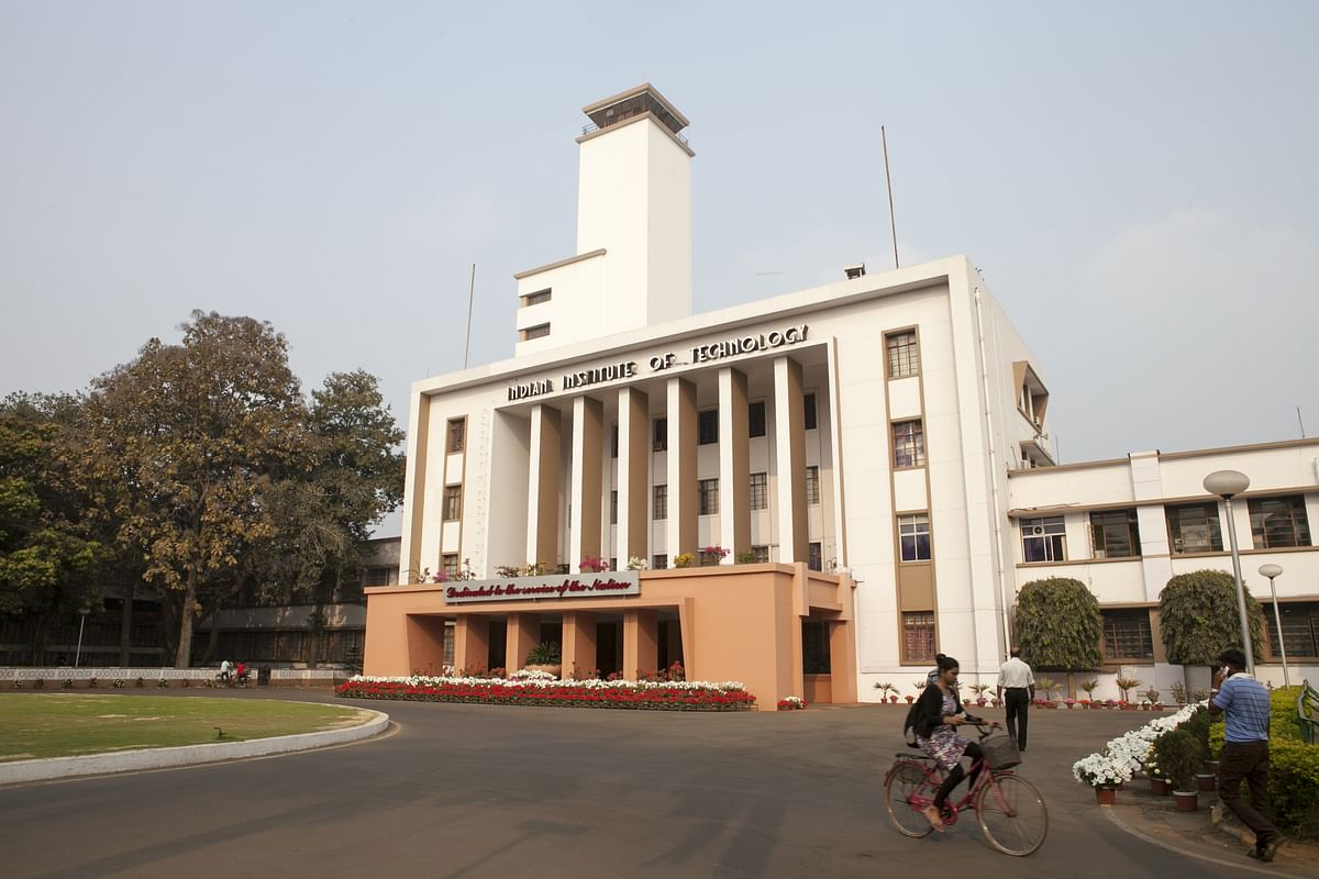 The Indian Institute of Technology in Kharagpur is one of the top technical institutes in the country. (Photographer: Sumit Dayal/Bloomberg)