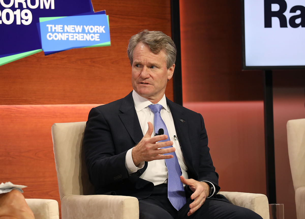 Bank of America CEO Says His Company Has to Make Profit and 'Take a Stand'