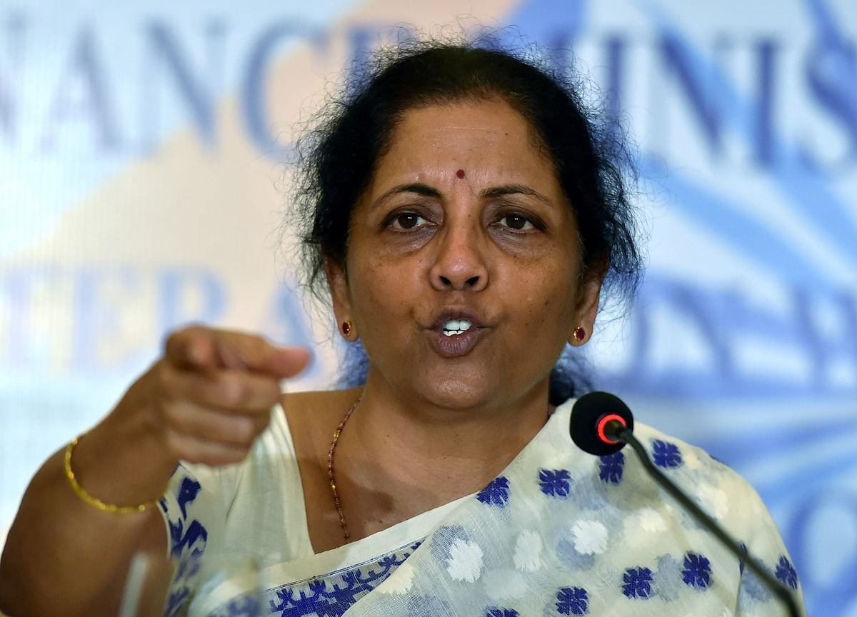 Task Force In Process To Identify Infrastructure Projects, Says Sitharaman