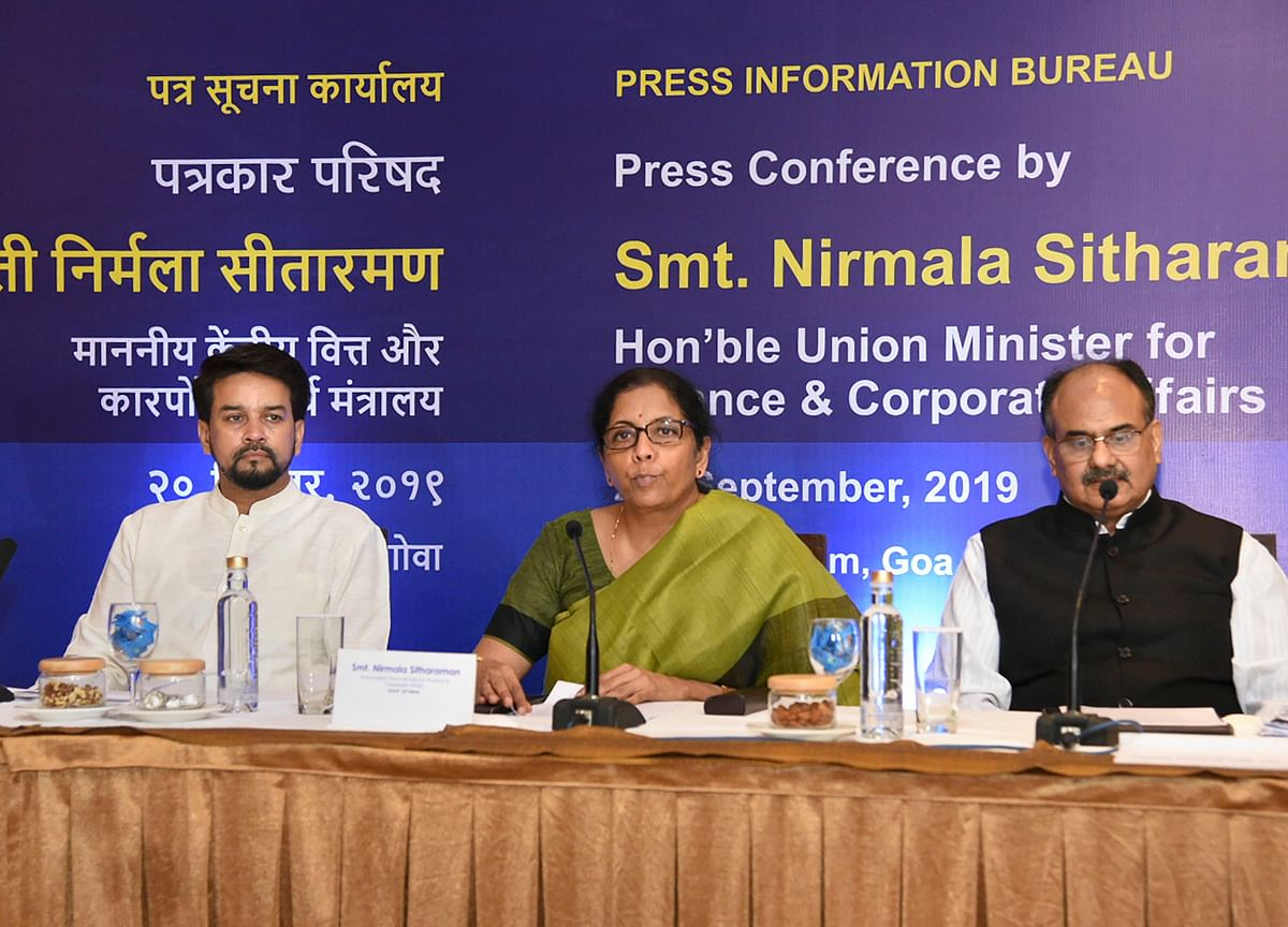Nirmala Sitharaman Proposes Corporate Tax Cuts: Full Text Of Her Speech Today