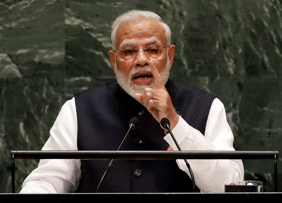 PM Modi Asks International Community To Stand United Against Terrorism