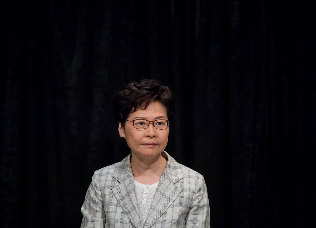 Hong Kong's Lam Takes Blame for 'Entire Unrest' Rocking City