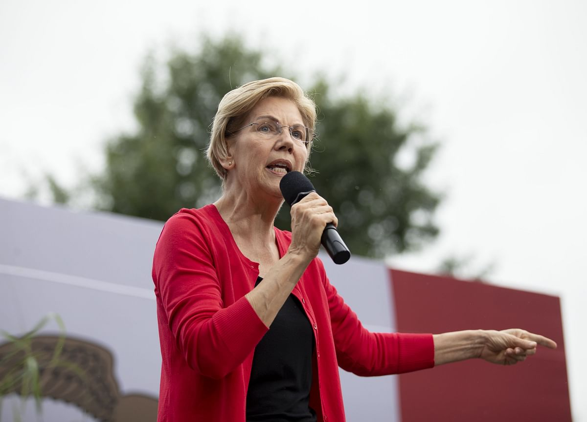 Warren Campaign Rebuffs Biden's Criticism of Money Transfer