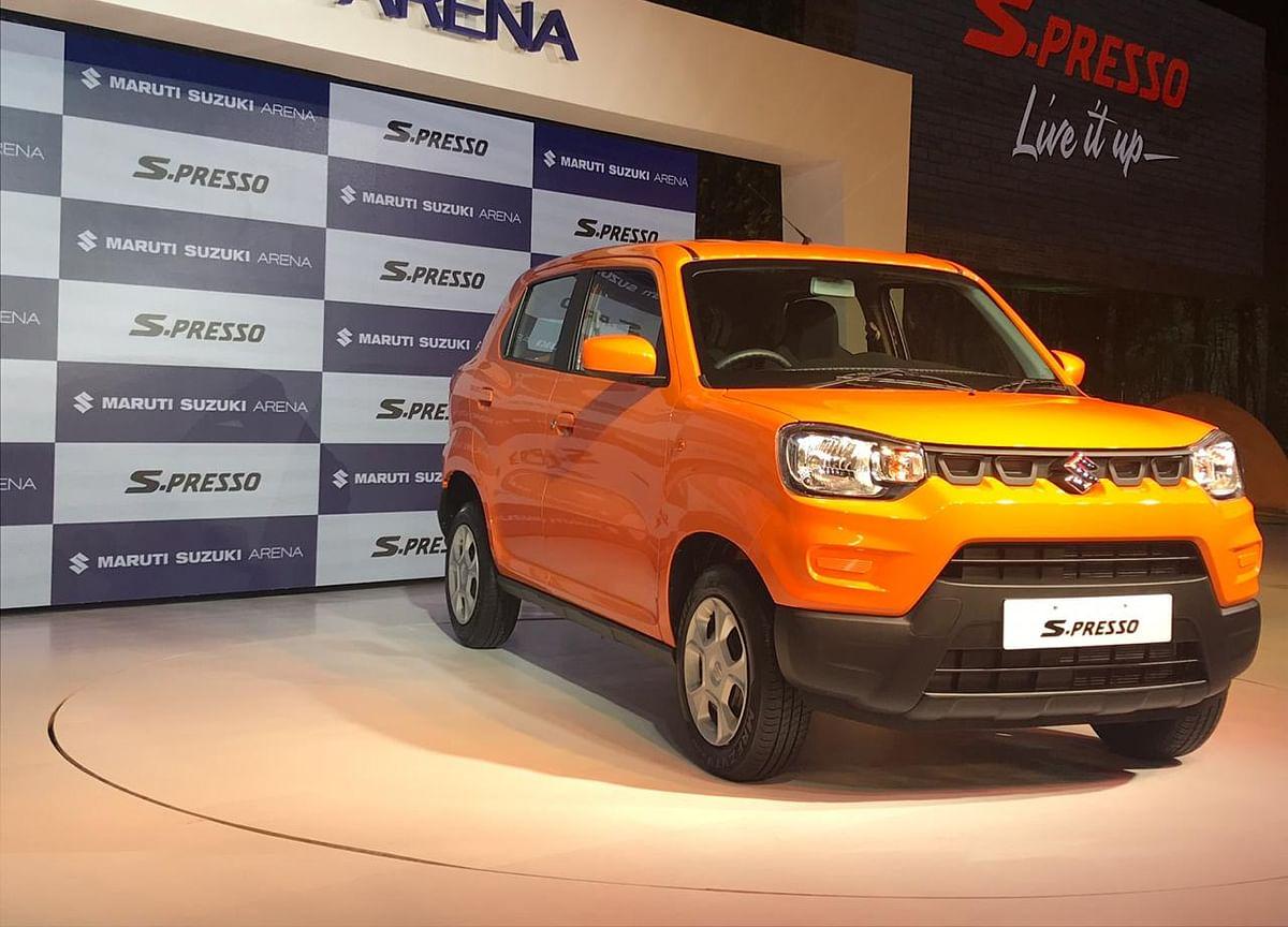 Maruti Bets On 'Mini SUV'  S-Presso To Drive Sales Amid Slowdown