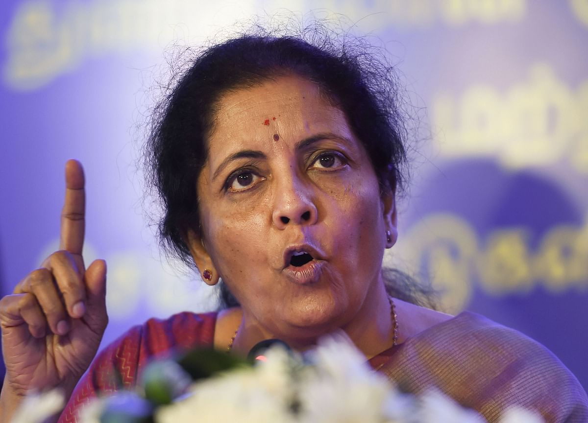 No Stressed MSME Loan To Be Declared NPA Till March 2020, Says Finance Minister Nirmala Sitharaman