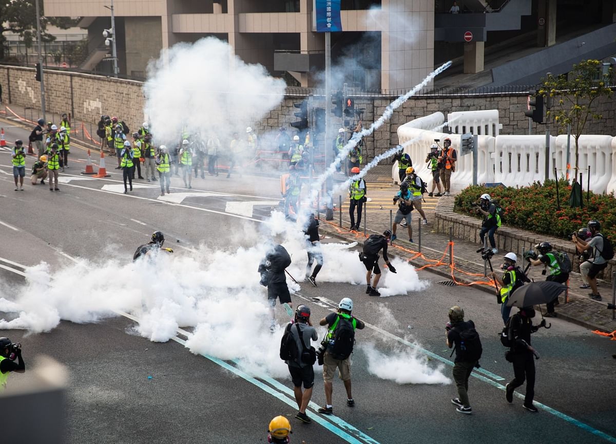 Most Protesters Depart After Mobbing Malls: Hong Kong Update